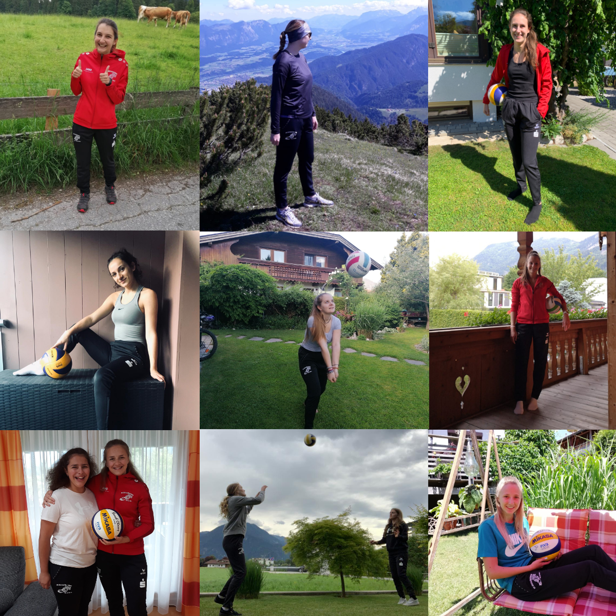 Collage SPG Damen Hosen
